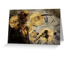 the time thief Greeting Card