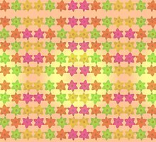 Daffodil Tessellation  by Stephanie Herrieven