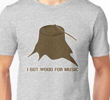 I Got Vinyl Wood Unisex T-Shirt