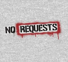 No Requests Stamp Kids Clothes