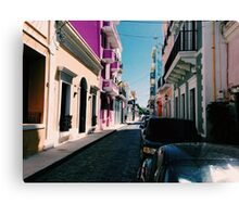 La Calle Canvas Print