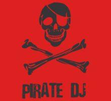 Pirate DJ Kids Tee