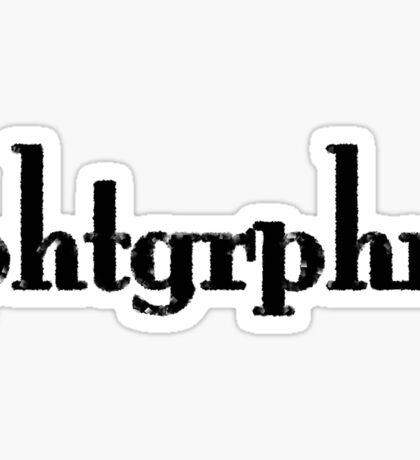Photographers Represent in Minimum Way. Sticker