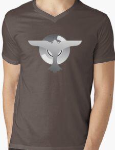 Plane Record Mens V-Neck T-Shirt