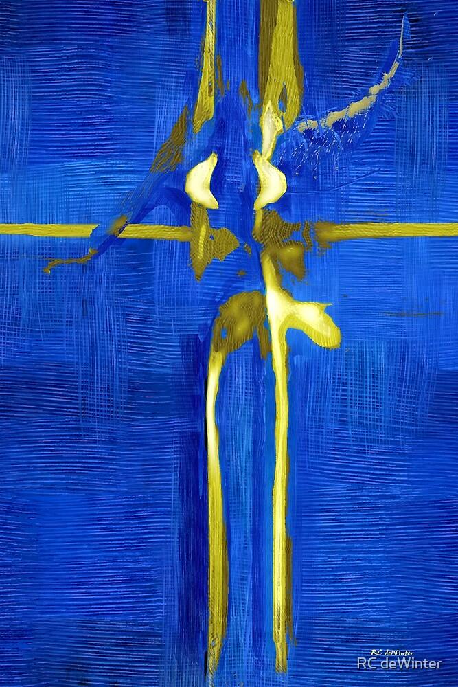 Blue Ballerina by RC deWinter