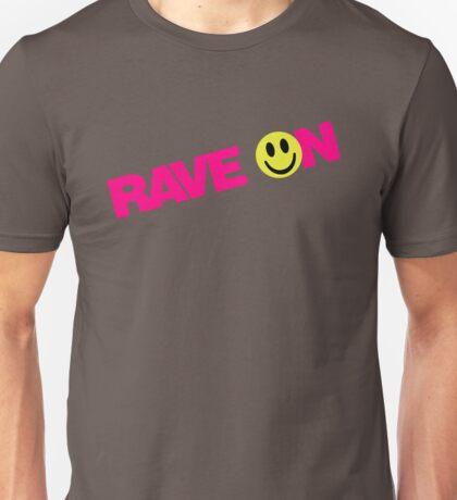 Rave On DJ Unisex T-Shirt