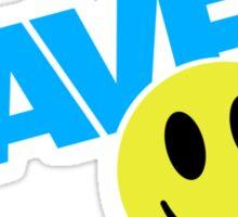 Raver Sticker