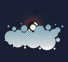 Record Cloud Kids Tee