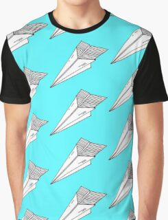 Old school paper plane Graphic T-Shirt