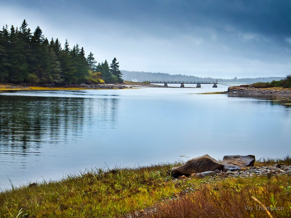 A Wet Day in Maine by vivsworld