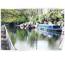 Islington's Regents Canal Poster