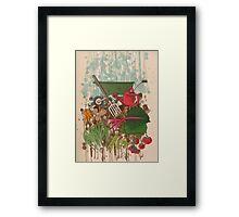 Veggie Garden Framed Print