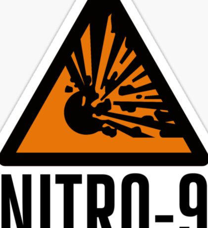 Dr Who: NITRO-9 Sticker