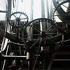 Screeching of Time. A Clock Mechanism in Geneva Airport by Igor Pozdnyakov