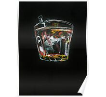 Whales & whiskey Poster