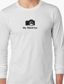 My third eye tee- See thru to shirt color Long Sleeve T-Shirt