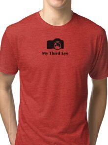 My third eye tee- See thru to shirt color Tri-blend T-Shirt
