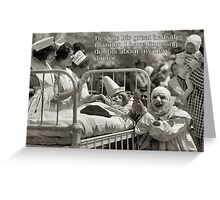 Novelty Greeting Card - Clown Doctor - I Have Doubts About My Doctor Greeting Card