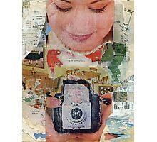 Madonna with Camera Photographic Print