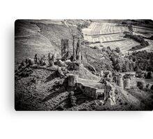 Corfe Castle Dorset England Canvas Print