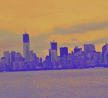 Blue City by eliso silva