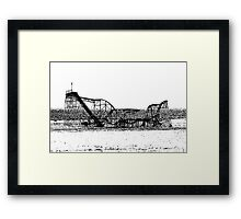 The Jet Star Framed Print