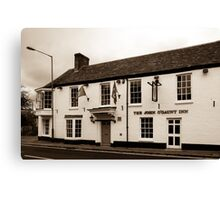 John O Gaunt Inn Hungerford England Canvas Print