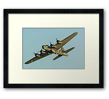 Boeing B17 Bomber Sally B Framed Print