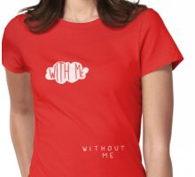 KNIGHT AND DAY – With me / without me Womens Fitted T-Shirt