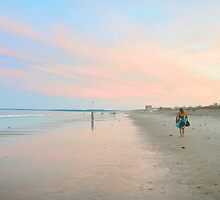 Sunset at Old Orchard Beach... by Poete100