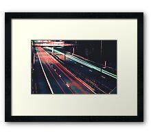 Bridge Overlook Framed Print