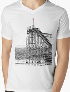 The Jet Star Rises Mens V-Neck T-Shirt