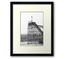 The Jet Star Rises Framed Print