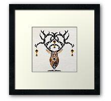 deer deer Framed Print