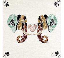 elephant love Photographic Print