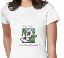 Caryl (Carol and Daryl) Cherokee Rose Womens Fitted T-Shirt