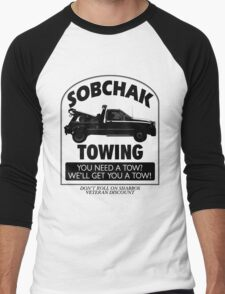 The Big Lebowski Inspired - Sobchak Towing - You Want a Toe? Men's Baseball ¾ T-Shirt