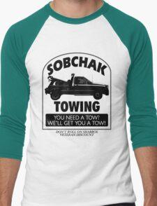 The Big Lebowski Inspired - Sobchak Towing - You Want a Toe? Men's Baseball ¾ T-Shirt