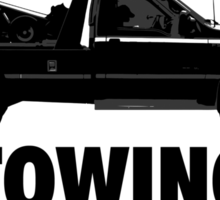The Big Lebowski Inspired - Sobchak Towing - You Want a Toe? Sticker