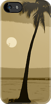 Hawaii Palm Tree by FromHereOnIn