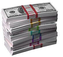 $90k Color Money Rainbow 100 dollar bills swag by SourKid