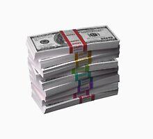 $90k Color Money Rainbow 100 dollar bills swag Unisex T-Shirt