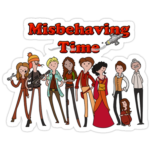 Misbehaving time by Eveanon