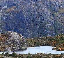 Twisted Lakes & Lake Dove Escarpment by Garth Smith