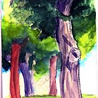 Trees by sarahtheartiste