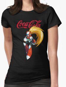 Mega Man X: Coca Cola Zero Womens Fitted T-Shirt