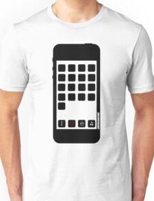 I Love House Music B&W Unisex T-Shirt