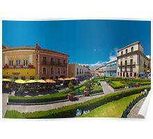 Plaza de la Paz Poster