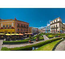 Plaza de la Paz Photographic Print