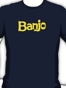 Banjo - retro biscuit wafer chocolate T-Shirt